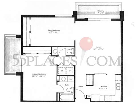 1077 floorplan 1077 sq ft heather gardens 55places com