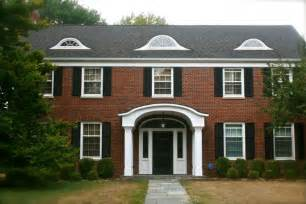 colonial brick homes housetalkn a brick colonial house tour home sweet home