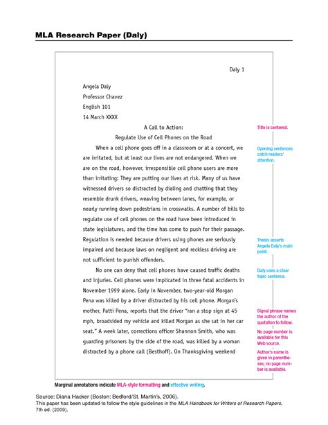 how to write a research paper in mla format oyle kalakaari co