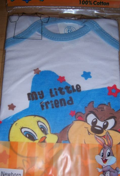 Tweety Bird Baby Shower by New Looney Tunes Infant T Shirt Baby Shower Taz Tweety