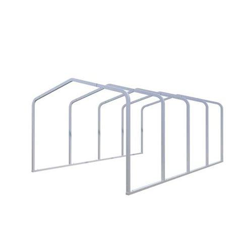 Metal Carport Frame by Versatube 174 Metal Carport Shelter Frame At Menards 174