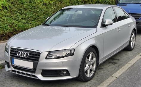 Audi A4 Front by Datei Audi A4 B8 2 0 Tdi 20090906 Front Jpg