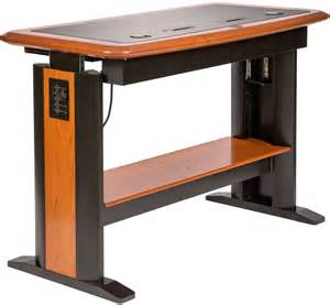 adjustable height computer desk standing computer desk 2 caretta workspace