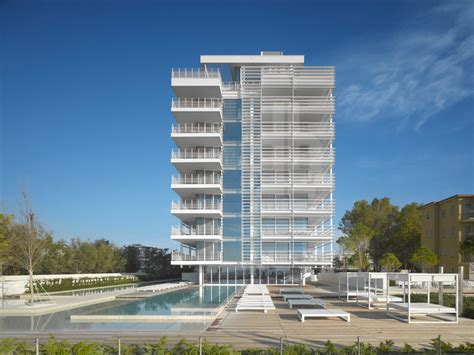 design apartment jesolo richard meier architects jesolo lido condominium complete