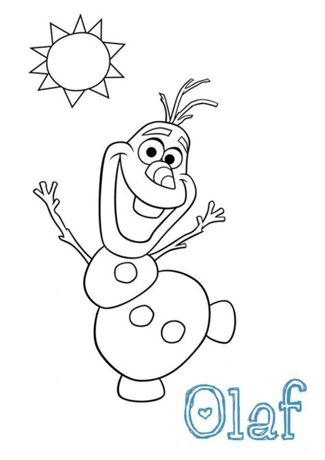 printable pictures of olaf frozen olaf breakfast food art template 001 dye it must