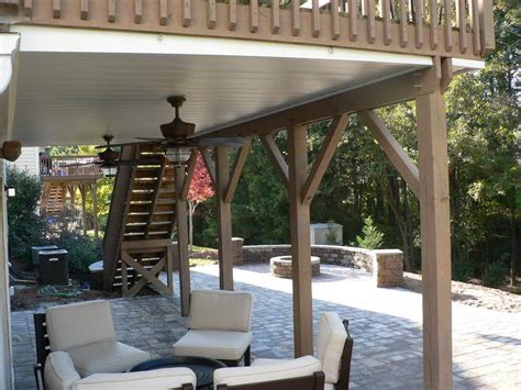 Patio Under Deck Design Ideas Planning Amp Ideas Great Idea For Under Deck Ceiling
