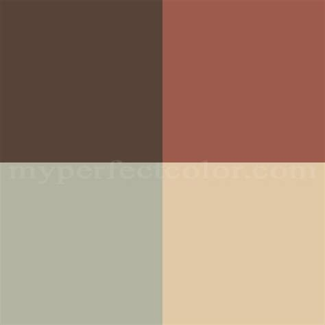 pottery barn colors winter 2007 refined rustic scheme created by bathroom reno