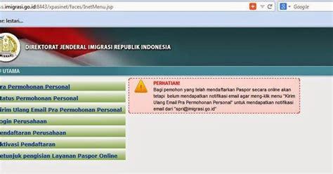 web membuat paspor online cara membuat paspor online mudah murah dan cepat tanpa