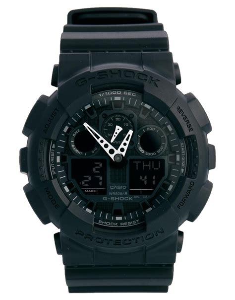 G Shock Black g shock gshock analogue black ga1001a1er in black