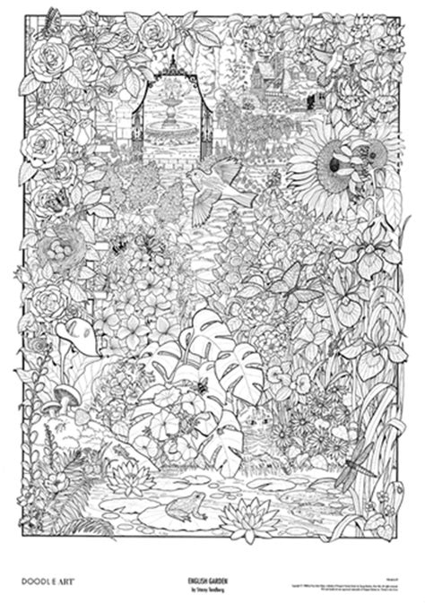 doodle house coloring poster the gallery for gt doodle posters to color
