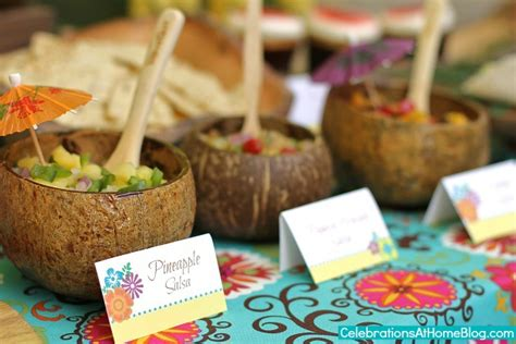 Beach Theme Home Decor by Entertaining Tropical Themed Party Ideas Free