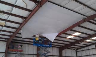 How To Insulate A Pole Barn Ceiling Retro Shield System Roofs