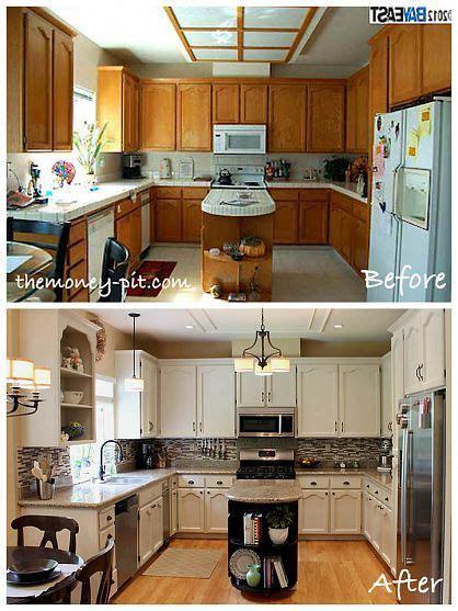 hardware for oak kitchen cabinets modernizing an 80 s oak kitchen new paint cabinet