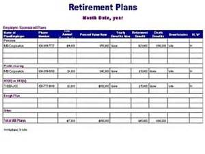 retirement plan template retirement planning worksheet virallyapp printables