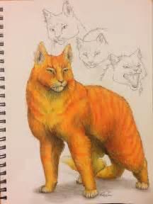 warrior cats firestar by sooothisisart wow on deviantart