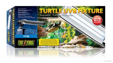 uvb l for turtles exo terra turtle uvb fixture appareil d 233 clairage 224