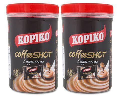 Kopiko Coffeeshot Classic 150g 2 x kopiko cappuccino coffee jar 240g