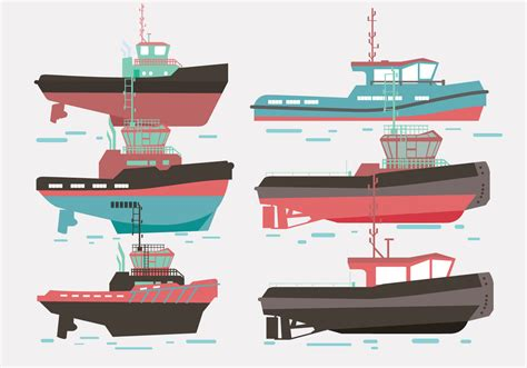 tugboat vector tugboat vector download free vector art stock graphics