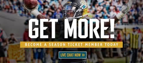 Season Tickets Jaguars Season Ticket Benefits
