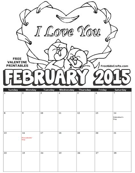 free 2016 calendar coloring pages