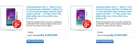 Harga Samsung Note 8 Erafone ini harga samsung galaxy note 4 di indonesia dengan
