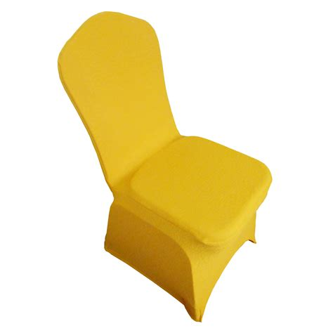 Yellow Chair Covers by Yellow Spandex Chair Cover Magical Wonderlande