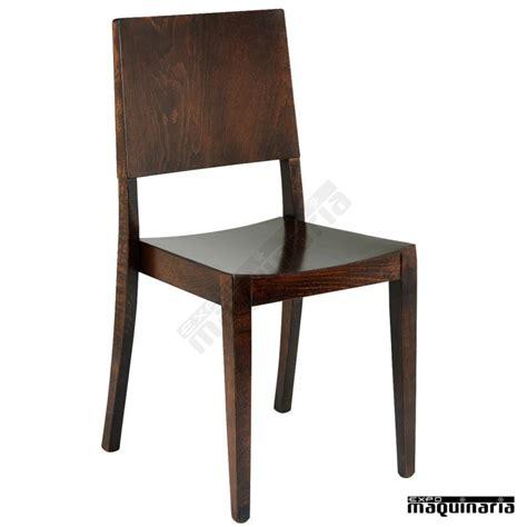 silla de madera para hosteleria 3r7 apilable