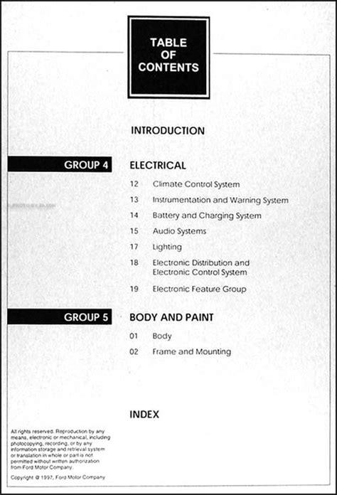 2000 Ford Focus Repair Shop Manual 2 Volume Set Original