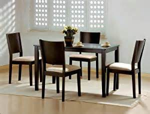 amazon com 5pc espresso dining table and chairs set