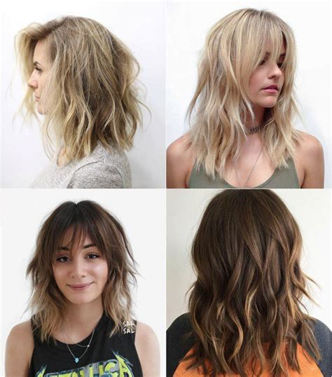 hairstyle thin frizzy dead ends short medium length help quick and easy 80 sensational medium length haircuts for thick hair in 2018