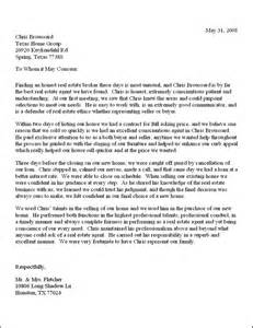 Thank You Letter Client Real Estate thank you letter to real estate client thank you letter 2017