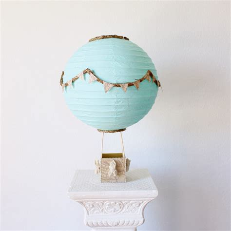 Hot Air Balloon Centerpiece Decoration Travel Theme Air Balloon Bathroom Decor