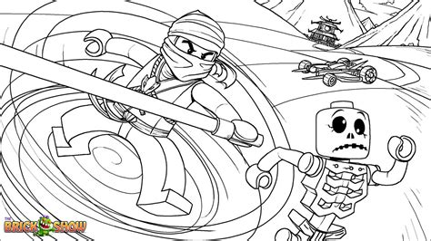 free coloring pages of under lego ninjago