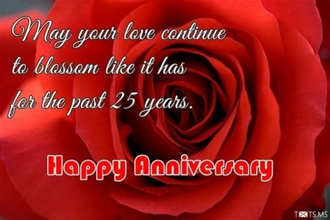 Silver Jubilee Wedding Anniversary Wishes Sms by 25th Wedding Anniversary Wishes Messages Quotes Images