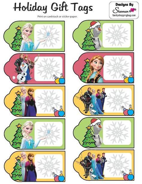 free printable olaf gift tags m 225 s de 25 ideas 250 nicas sobre frozen para imprimir en