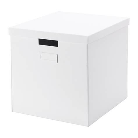 Ikea Ikea Tjena Kotak Dengan Penutup 32x35x32 Cm Limited tjena kotak dengan penutup putih ikea