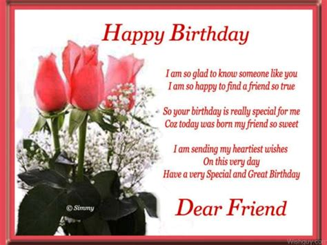 happy birthday to my friend cards template birthday wishes for friend wishes greetings pictures