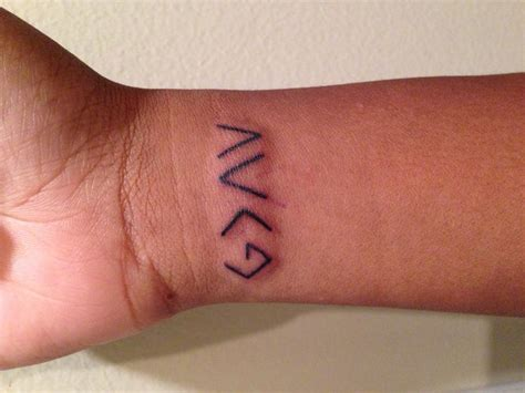 first tattoo fontes pinterest primeira tatuagem quot god is greater than the highs and lows quot first tattoo