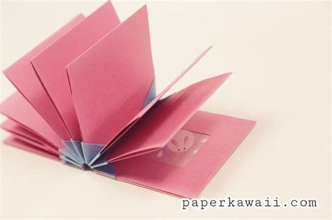 Paper Folding Books - origami book blizzard style tutorial 183 how to make a bound