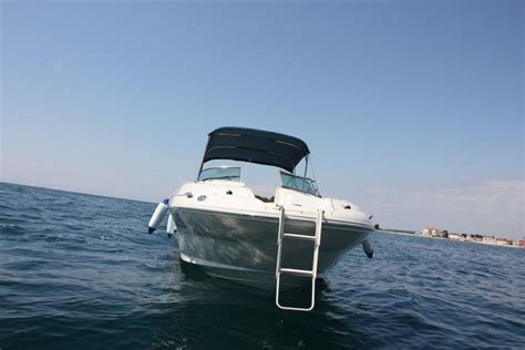 motorboot charter kroatien charter sea ray 240 sundeck motorboot mieten kroatien