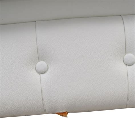 white leather tufted sofa 75 chesterfield white tufted leather sofa sofas