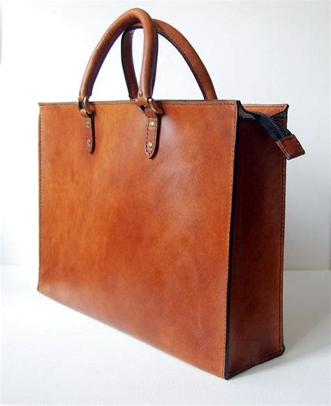 Handcrafted Leather Briefcase - 25 best ideas about leather briefcase on