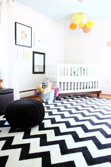 hipster nursery hipster nursery idea love this monochrome rug for a kids