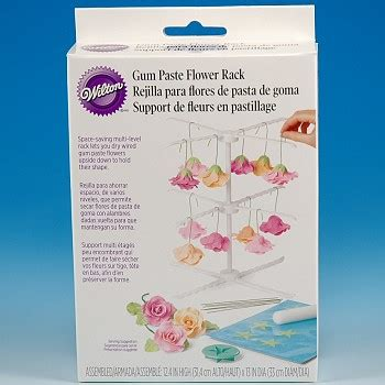 Wilton Gum Paste Flower Drying Rack Pengering Gum Paste gum paste flower rack