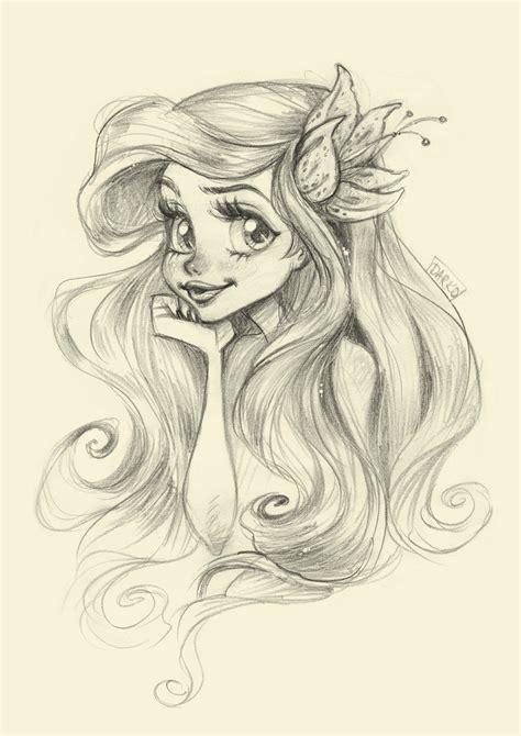 Darko Dordevic My Fast Sketchy Illustration Of The Mermaid Princess Drawings