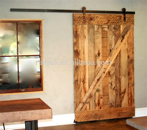 barn style sliding door track american style sliding barn door with flat track for solid