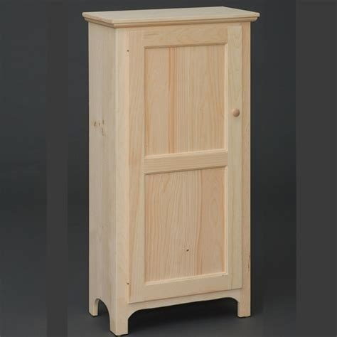 Jelly Cabinets Pantries by Solid Pine Single Door Pantry Jelly Cabinet