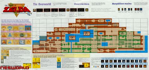 legend of zelda map walkthrough nesworld a website dedicated to retro gaming