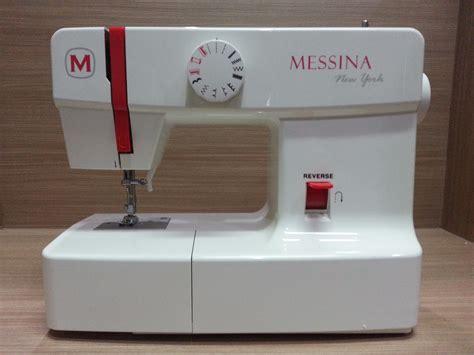 Mesin Jahit Messina N808 N 808 New York Multifungsi Portable 2 jual mesin jahit messina singer n 808 new york portable service jaya supply