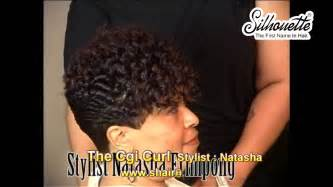 american freeze style hairdo hair instructional video the chi curl african american